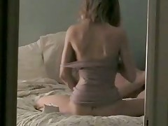 Amateur age-differenced couple fuck on camera